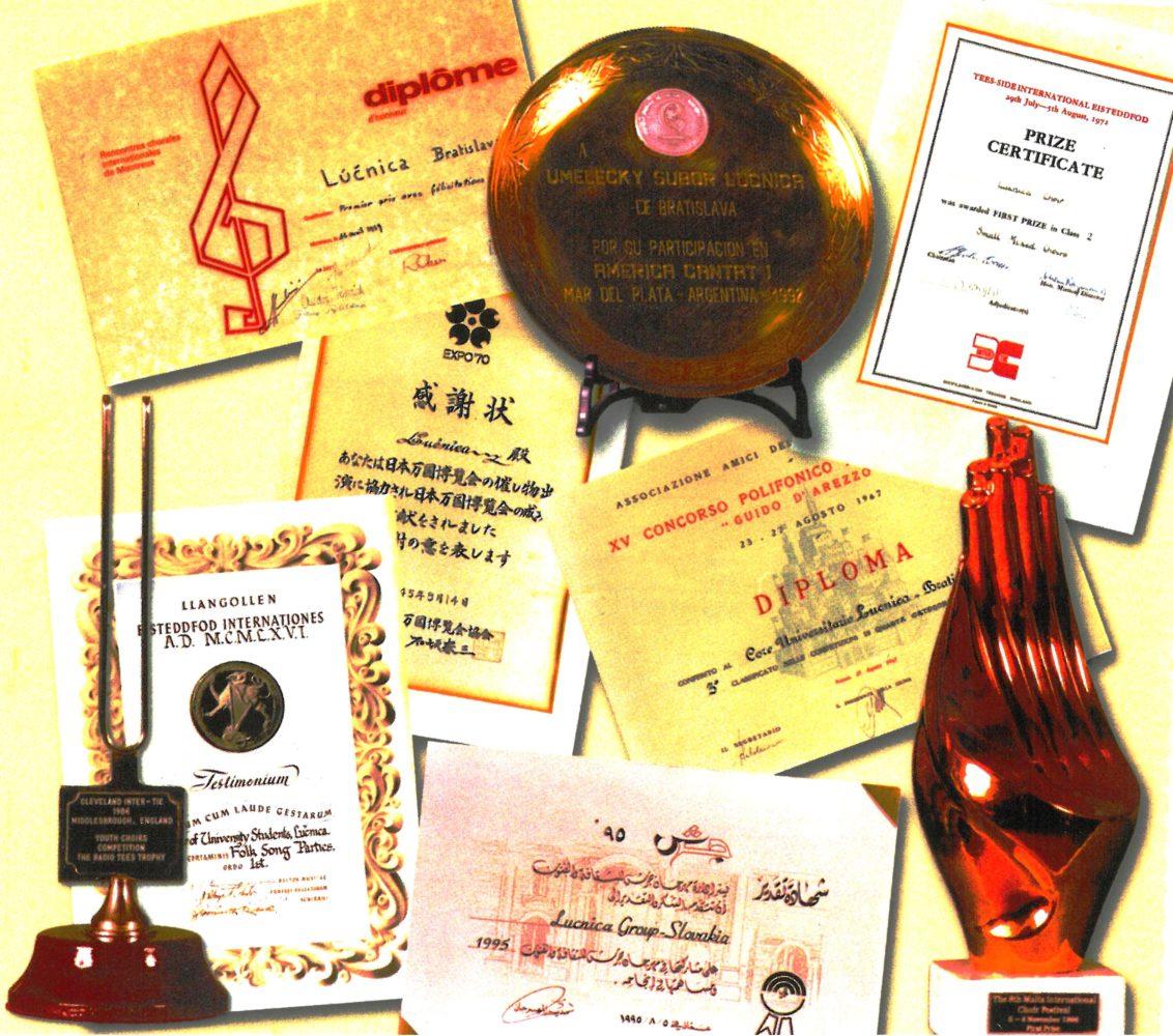 Zbor - ocenenia