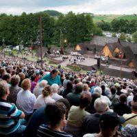 Detva amfiteáter, Slovakia (Lúčnica, 9.7.2005)