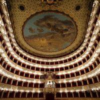Teatro di San Carlo Neaples, Italy (Lúčnica 26.9.1969)