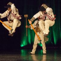 65. výročie Lúčnice: Handelci na tanci. Foto: Matúš Lago