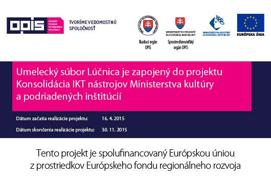 Poster Konsolidácia IKT nástrojov Ministerstva kultúry SR