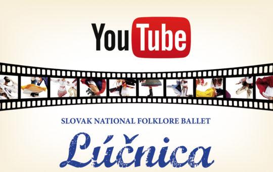 """Navštívte náš nový YouTube kanál """"Lúčnica"""""""