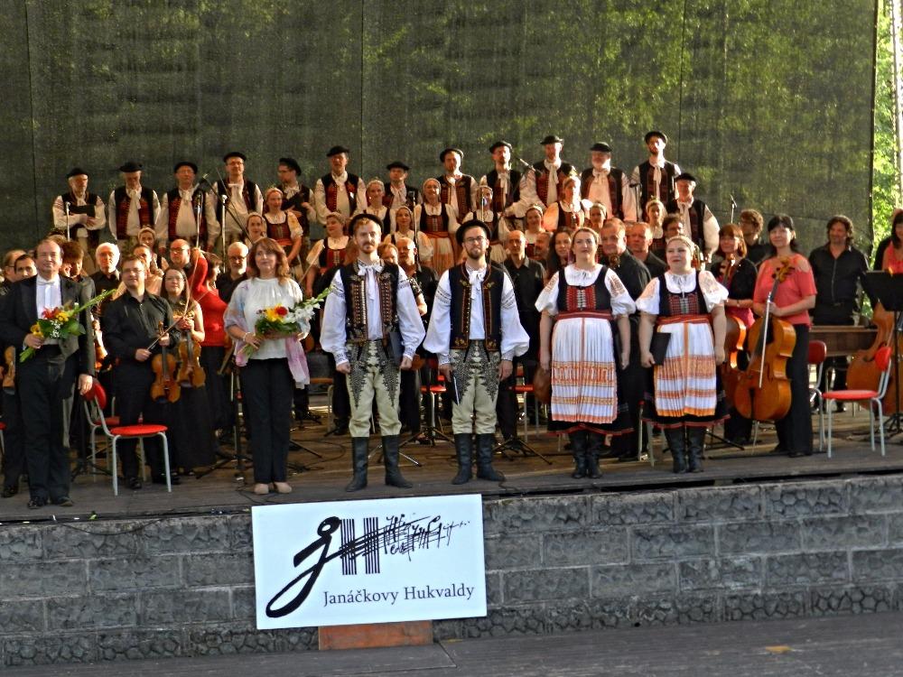 Záverečný koncert festivalu Janáčkovy Hukvaldy 2016 ; foto (c) Tomáš Sládeček