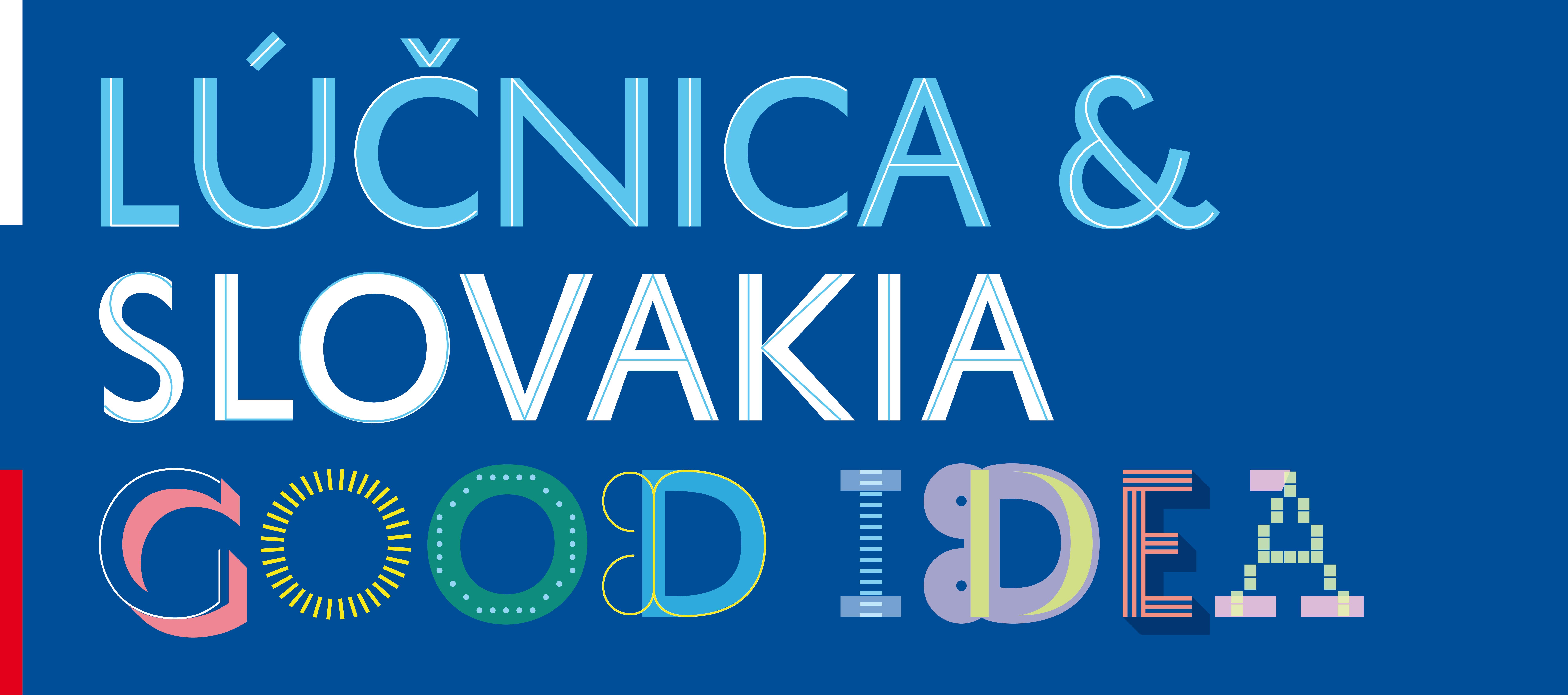 Logo Lúčnica & Slovakia Good Idea.