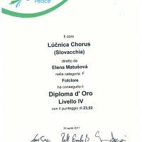 Assisi 2017 - Diplom