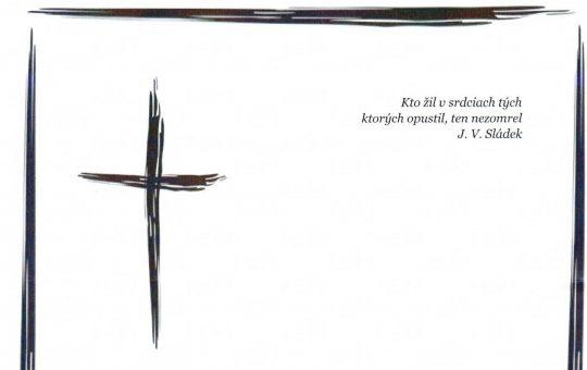 Zomrel Ladislav Košťa – spoluzakladateľ a dlhoročný člen Umeleckého súboru Lúčnica