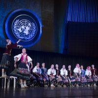 Lúčnica performed at United Nations Day concert. Photo: MZV SR.