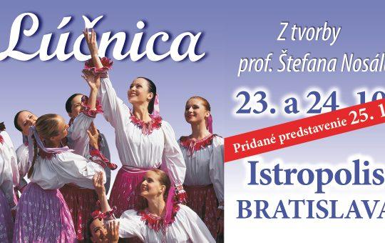 Predstavenia: 23., 24. a 25. októbra 2018 – Istropolis, Bratislava