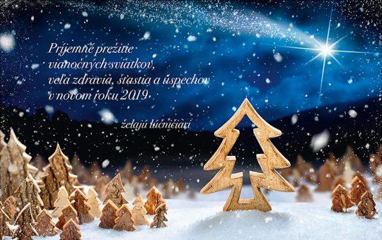 Veselé Vianoce a PF 2019